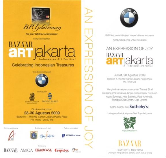 Harper Bazaar ART JAKARTA_Indonesian Art Festival